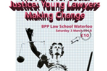 Events: The Fight for Social Justice: Young Lawyers Making Change