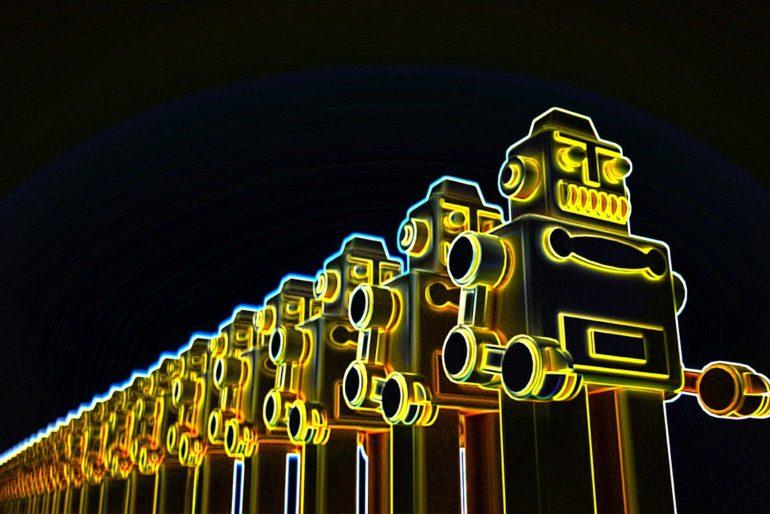 A chorus of Robots