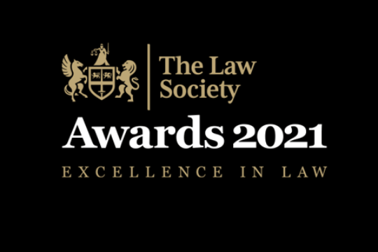Law Society Awards 2021 – we're shortlisted!